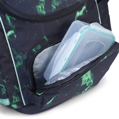 U-TURN Schultasche mit isoliertes Brotdosenfach