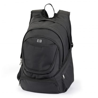 "Laptop-Rucksack mit separatem 17,3""-Laptopfach - Black BACKPACK XL"