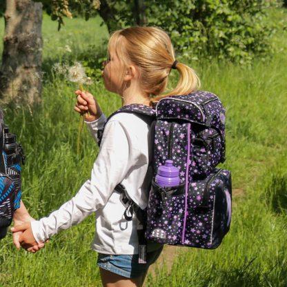 begynder skoletaske med enhjørning