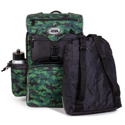 Die Sporttasche ist ein kleiner Rucksack