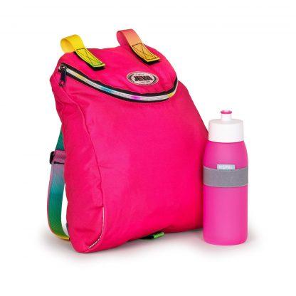 inklusive Sporttasche und Trinkflasche