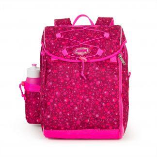 super pink skoletaske