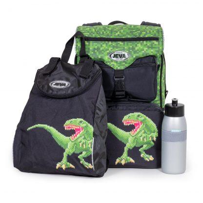begynderskoletaske inkl. matchende gympose og drikkedunk