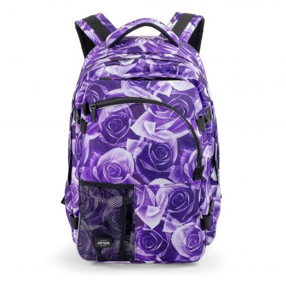 Rucksack groß für Mädchen - Purple Rose SUPREME