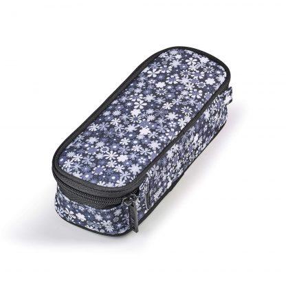JEVA Federtasche Paloma BOX in schönem Grau – passend zu Ranzen