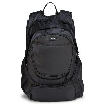 Rucksack für ältere Schüler - Pure Black BACKPACK XL