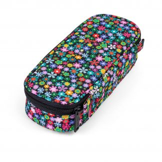 BOX Federtasche für Mädchen – Meadow hat ein mehrfarbiges Blumenmuster