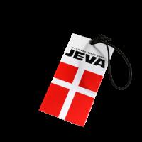 JEVA hang-tag