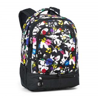 Colibri SURVIVOR - rygsæk med blomster