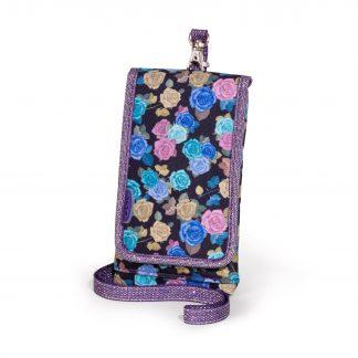 Handy-Geldbeutel mit rosen