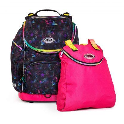 Das Lux U-TURN umfasst eine Sporttasche und eine Getränkedose