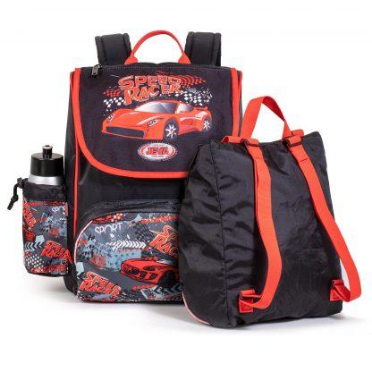 die Sporttasche von hinten