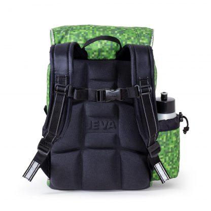skoletasken har ergonomisk rygstøtte