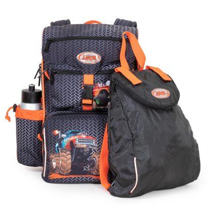 begynder skoletaske med gymnastikpose/minirygsæk