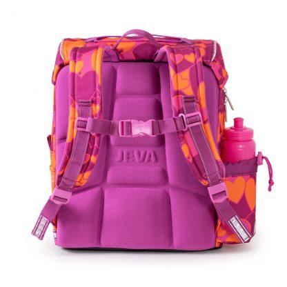 skoletaske med ergonomisk ryg