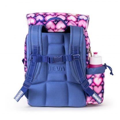 ergonomisk designet skoletaske med foam-back