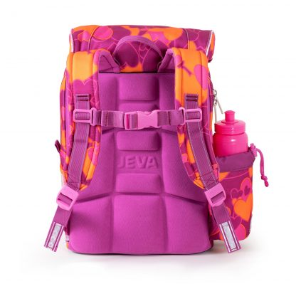skoletaske med ergonomisk rygstøtte